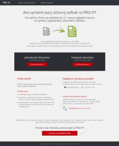Online rozhovor o zmene účtovného softvéru